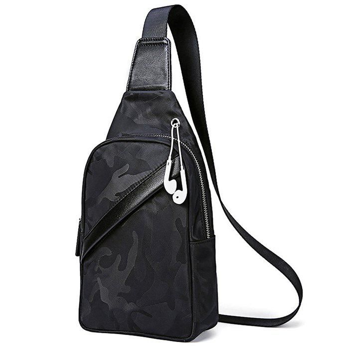Affordable Men's Chest Bag Oxford Cloth Canvas Casual