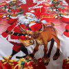 Christmas Joy Santa Happy Gifts 3D Bed Home Furnishing Bedding 3pcs -