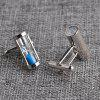 Men's Cufflinks Creative Hourglass Pattern 2pcs -