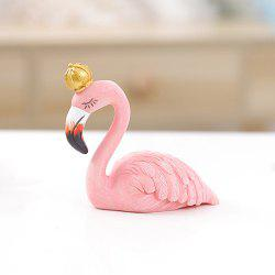Flamingo Ornament Resin Crafts Décoration - ROSE PÂLE