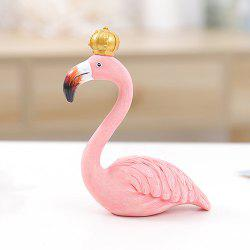 Flamingo Ornament Resin Crafts Décoration - Rose