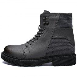 Men Skid-proof Warming Wear-resistant Stylish High-top Shoes -