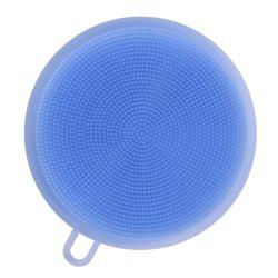 Creative Multifunction Magic Silicone Dish Universal Bowl Cleaning Up Brush Scouring Pad -
