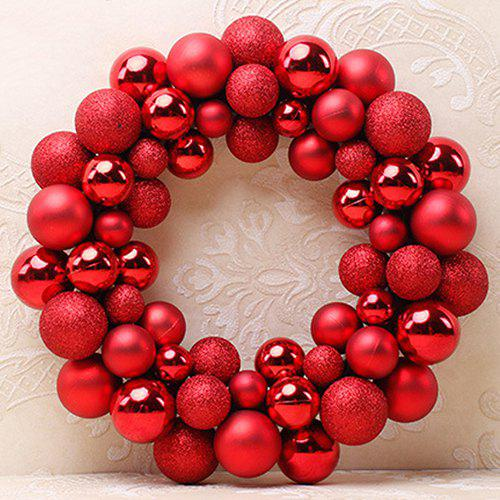 Christmas Ball Garland.Decoration Christmas Ball Garland Ornament For Mall Pendant