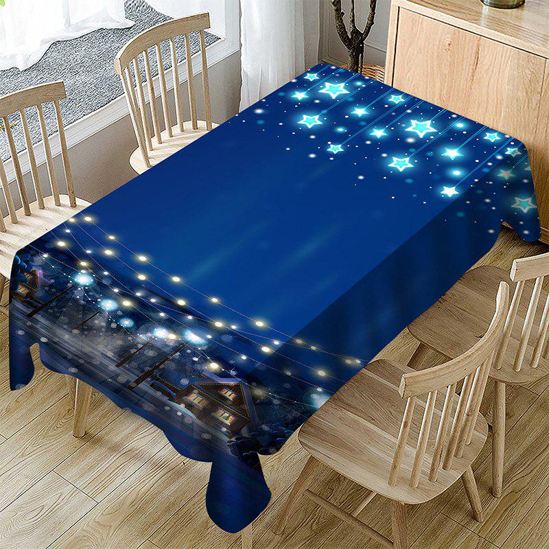 Fashion Polyester Household Christmas Decoration Tablecloth