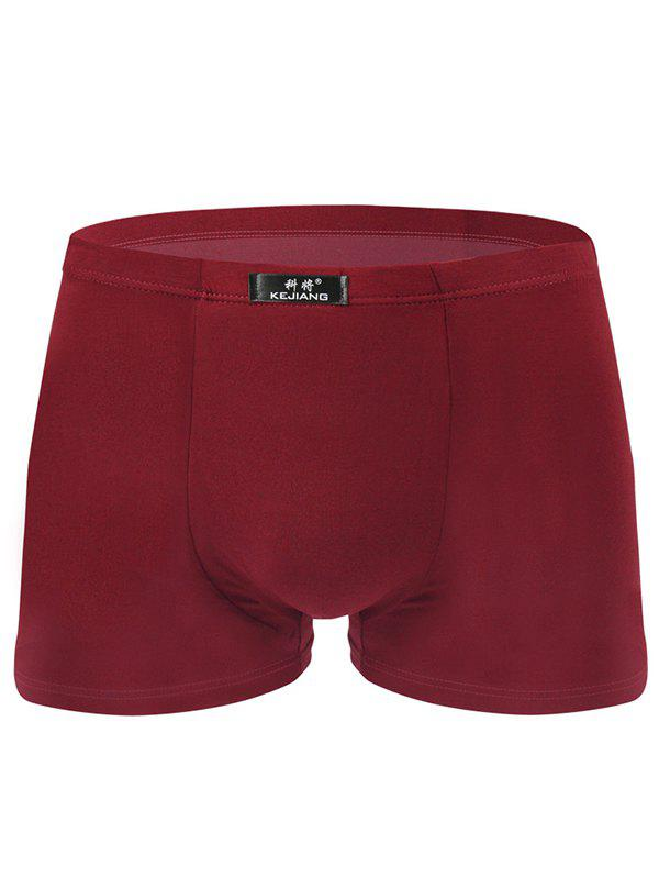 Online Men's Elastic Breathable Short Boxers