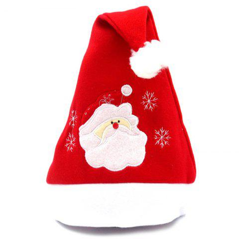 eb22c1c7a6eb9 Men s Christmas Flannel Embroidered Christmas Hat