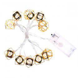Шестигранный Dice Christmas Bedroom Home Holiday Decoration String Light -