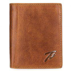 Tangguh 603 Real Leather Men Retro Wallet -