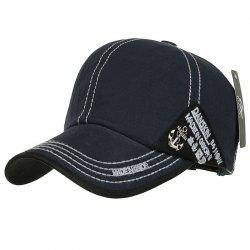Cotton Washed Baseball Cap -