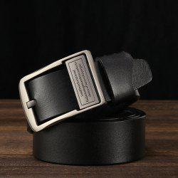 Men's Fashion Casual Leather Jeans Belt -
