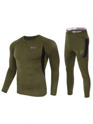 Outdoor Sports Fleece Thermal Underwear -