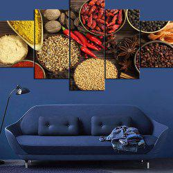 Wulian Decorative Painting Oil Painting Kitchen Aniseed Various Spices Pepper -