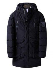 Long Cotton Warm Windproof Jacket -