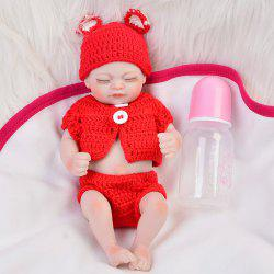 KEIUMI Simulation Baby Rebirth Doll Toy Holiday Gift 10 inch -
