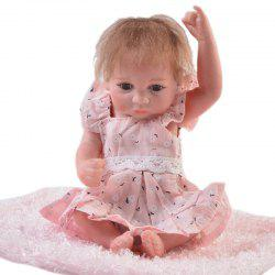 KEIUMI 10 inch Mini Simulation Baby Rebirth Doll Toy -