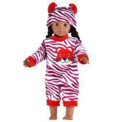 Simulation Reborn Doll Animal Clothes Suit 18 inch -