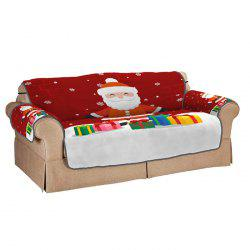 Santa Claus With Gifts Double Sofa Cushion -