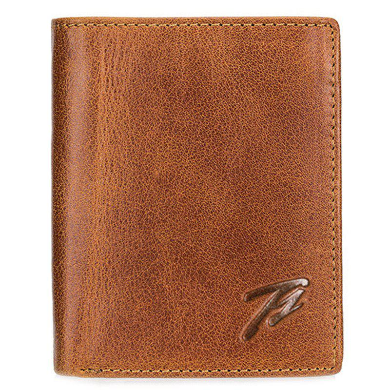 Fancy Tangguh 603 Real Leather Men Retro Wallet