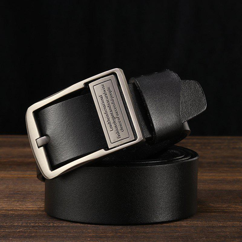 Store Men's Fashion Casual Leather Jeans Belt