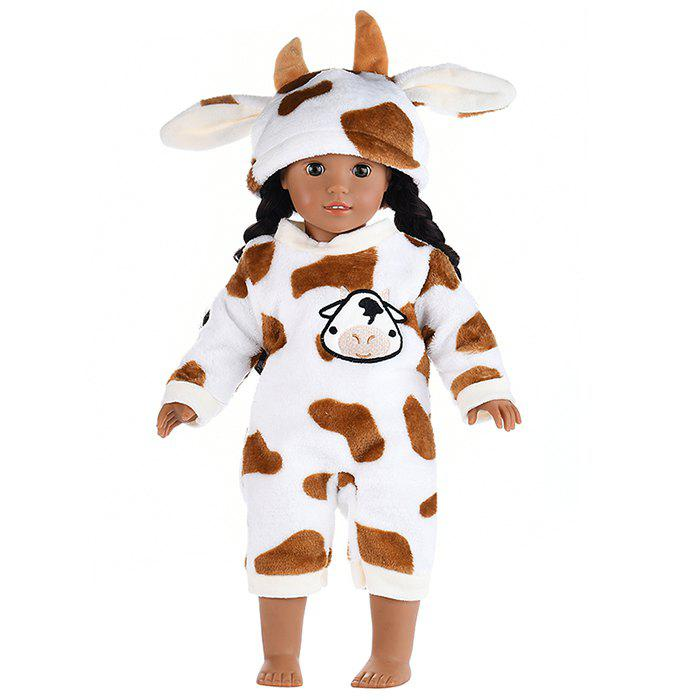 Shops Simulation Reborn Doll Animal Clothes Suit 18 inch