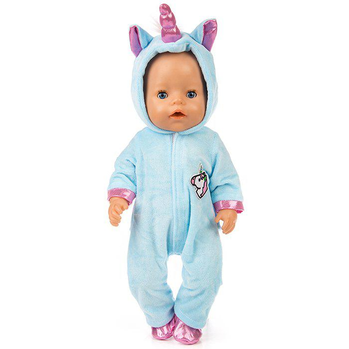 Shops 18 inch Simulation Baby Rebirth Doll Pony Clothes Set
