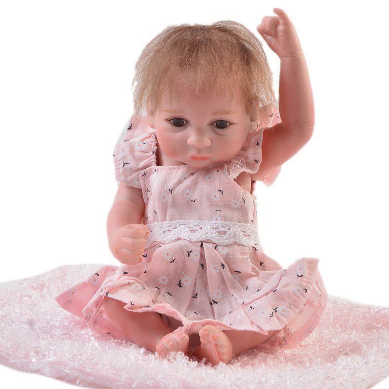Fashion KEIUMI 10 inch Mini Simulation Baby Rebirth Doll Toy