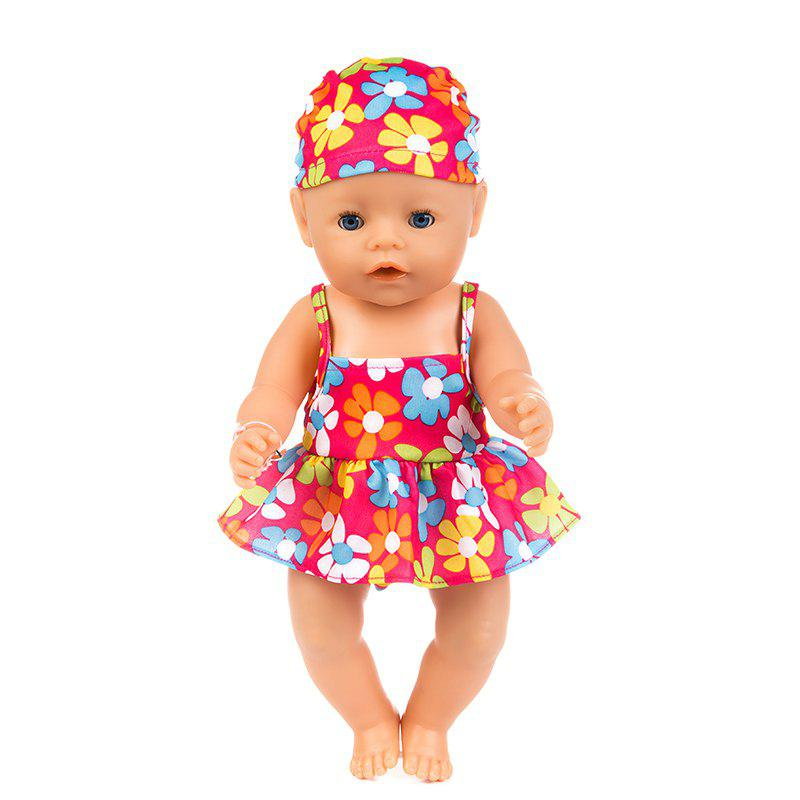 Shop 43cm Reborn Baby Swimsuit Set Clothes