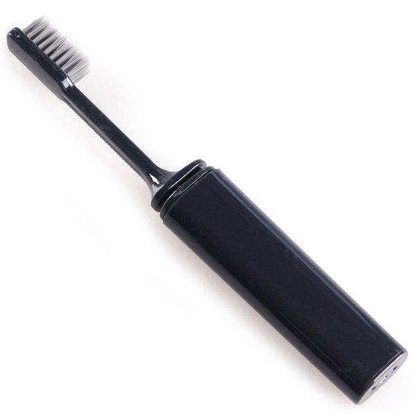 Outfit Portable Travel Folding Toiletries Soft Hair Toothbrush