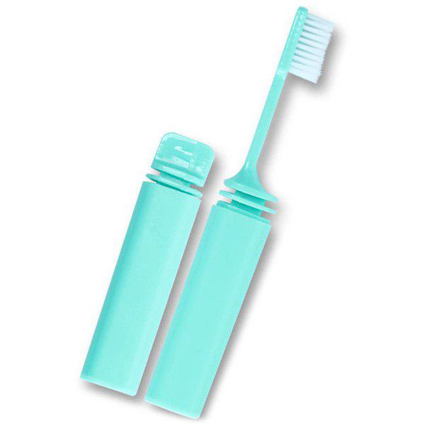 Trendy Portable Travel Folding Toiletries Soft Hair Toothbrush
