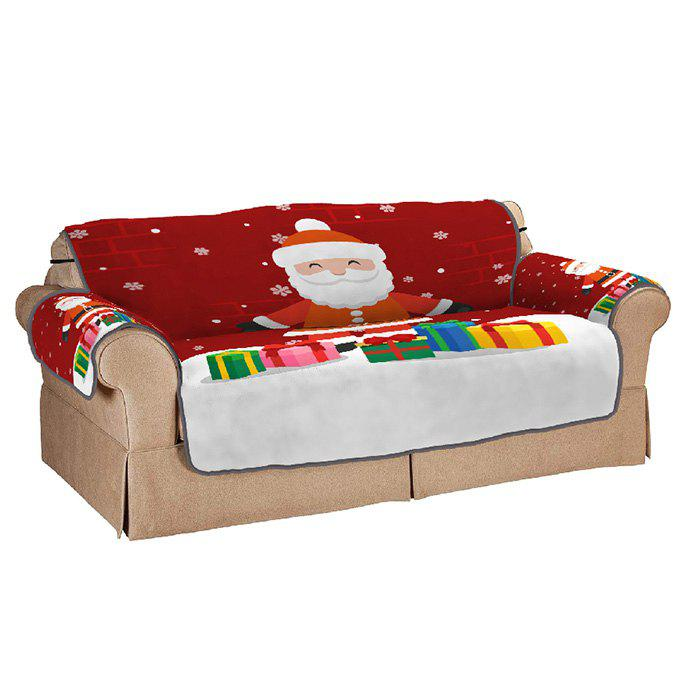Cheap Santa Claus With Gifts Double Sofa Cushion