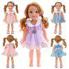 Simulation Baby Rebirth Doll Cartoon Clothes 14 inch -