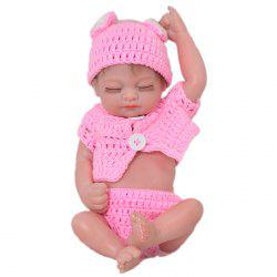 KEIUMI 11 Inchs Mini Simulation Baby Rebirth Doll Toy -