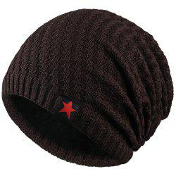 Wool Velvet Warm Knit Hat for Winter and Autumn -