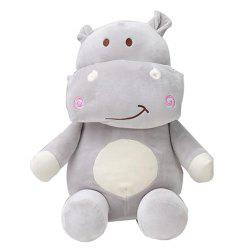 Toy Doll Pillow Cute Pet Hippo Doll -