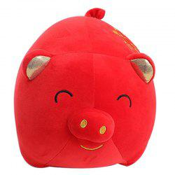 Yuanbao Pig Lucky Fortune Doll Plush Toy -