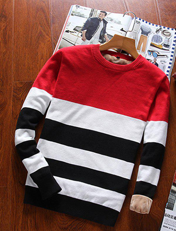 Affordable Men's Striped Casual Sweater