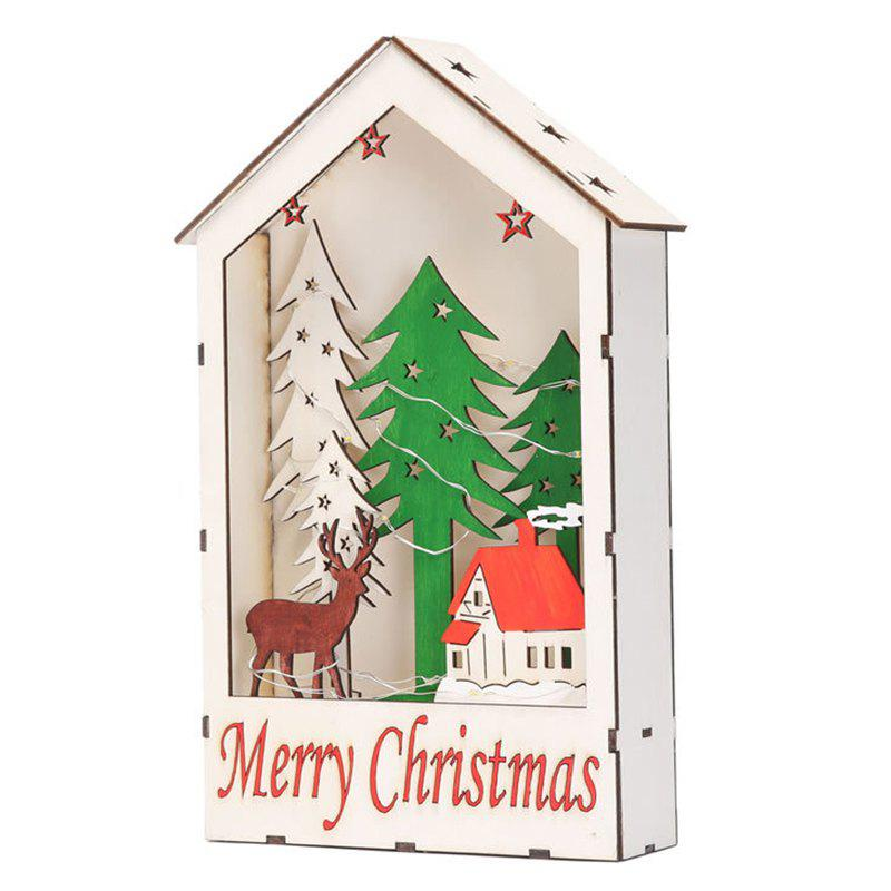 Latest Christmas Decorations Color Window House Gifts Shopping Mall Window Set Children's Toys