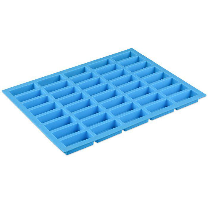 Chic Beautiful Chocolate Mold 40-hole Square Food Grade Silicone Ice Cube Mould