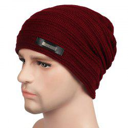 Plus Velvet Warm Wool Hat for Autumn and Winter -
