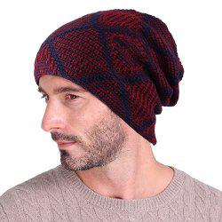 Tianzige Autumn And Winter Knitted  Add Cashmere Hat -