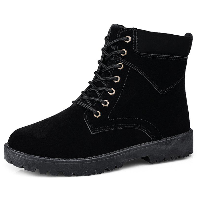 Outfit Winter High-top Men Boots