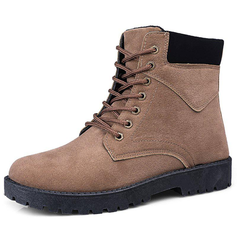 Trendy Winter High-top Men Boots