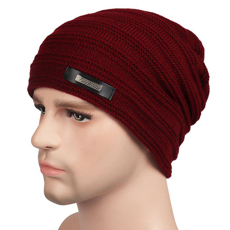 Store Plus Velvet Warm Wool Hat for Autumn and Winter