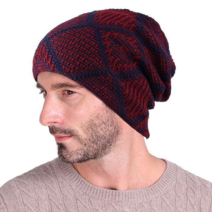 Chic Tianzige Autumn And Winter Knitted  Add Cashmere Hat