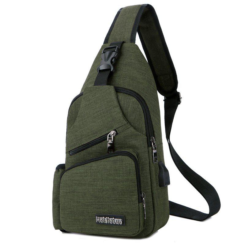Outfits Men Charging Sports Chest Bag Outdoor