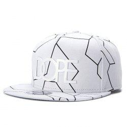 Wuke Hip Hop Flat Fashion Baseball Cap -