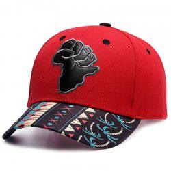 Men And Women Leather Embroidered Baseball Casual Cap -