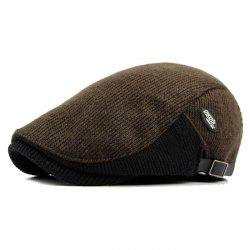 Winter Thick Warm Men's Wool Beret -