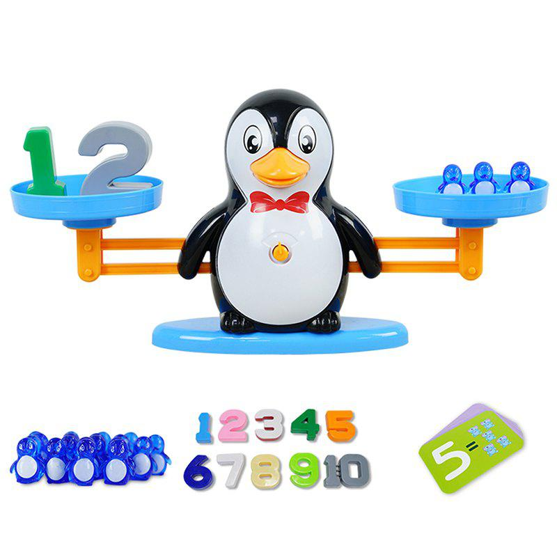 Sale DD1808 - 8 Penguin / Elephant / Doll Mathematics Scales Toys Card Algorithm Puzzle Early Education Teaching Tools